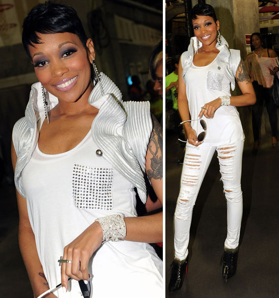 562c909d12de R B Singer Monica Styling On Them Hoes In Christian Louboutin ...