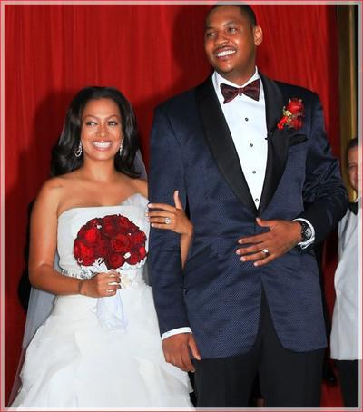 carmelo anthony girlfriend. NBA player Carmelo Anthony and