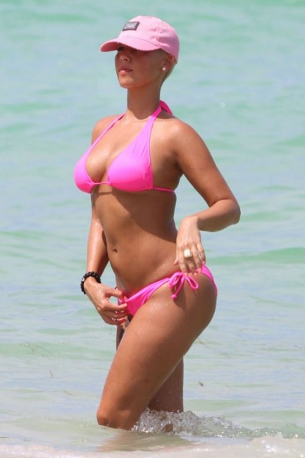 amber rose fat. Model Amber Rose is still