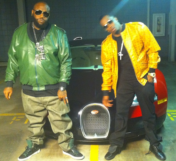rick ross self made shirt. Diddy amp; Rick Ross Styling On