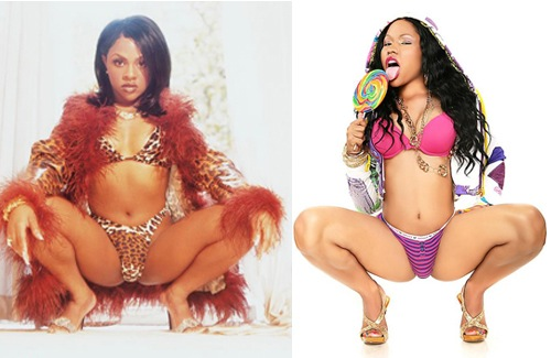 nicki minaj vs lil kim photos. the Lil Kim Vs Nicki Minaj