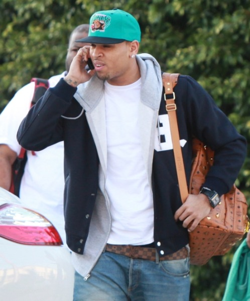 chris brown funny face - photo #23