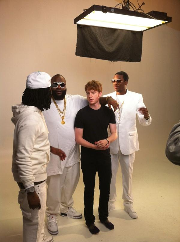 Exclusive Pictures From The Set Of Rick Ross Pandemonium