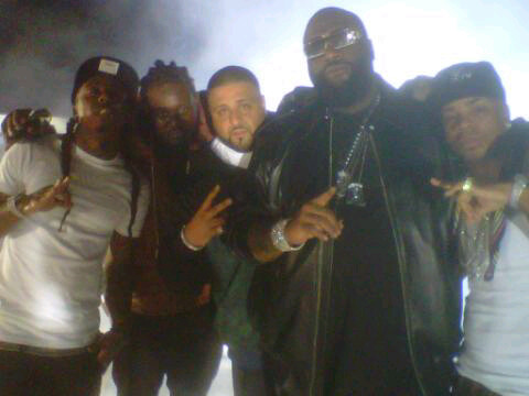 | DJ Khaled Welcome To My Hood Remix Video Shoot |