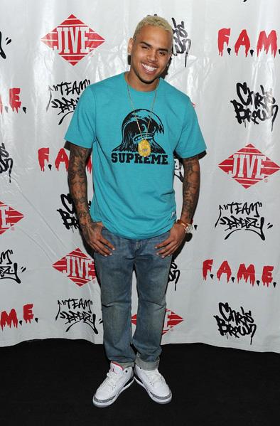 huge selection of 4453c 1e3c5 Sneaker Me Dope: Chris Brown Wearing A Pair Of Air Jordan ...