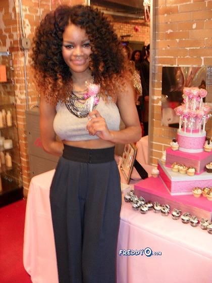Teyana Taylor Sweet 16 Dress