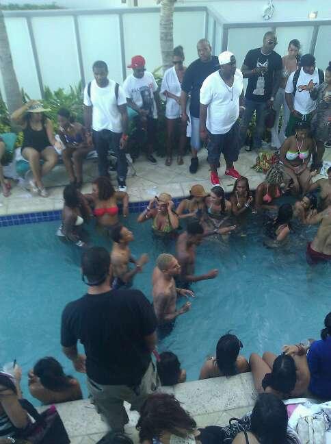 from Jaxson bow wow naked at pool