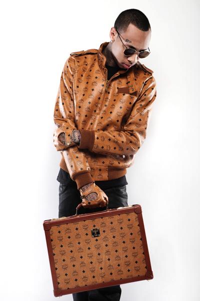 Celebs Style Tyga Chris Brown Amp Big Sean In Mcm