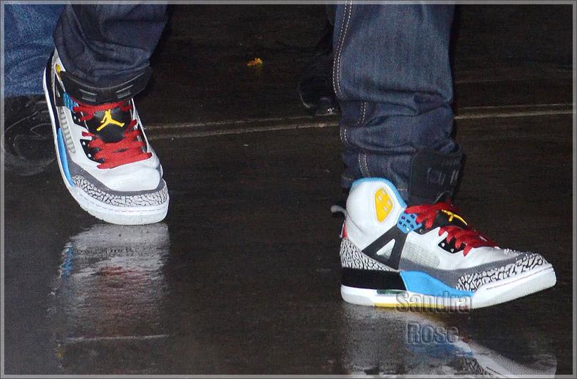 """fe00cd641ae3 Sneaker Me Dope  Justin Bieber Rocking Air Jordan Spizike """"Bordeauxs"""""""