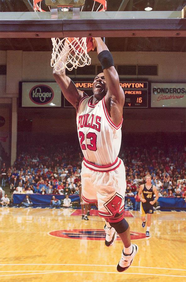 online retailer 705f1 6b6df The GREATEST NBA Player Ever: Michael Jordan Wearing The Air ...