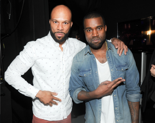 "9ae69cdf7ad Sneaker Me Dope  Kanye West Rocking Air Jordan IV ""White Cement"""