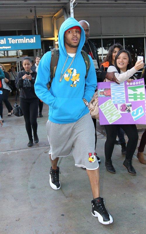 3d80b9349fa Sneaker Me Dope  Chris Brown   His Girlfriend Karrueche Tran Rocking ...