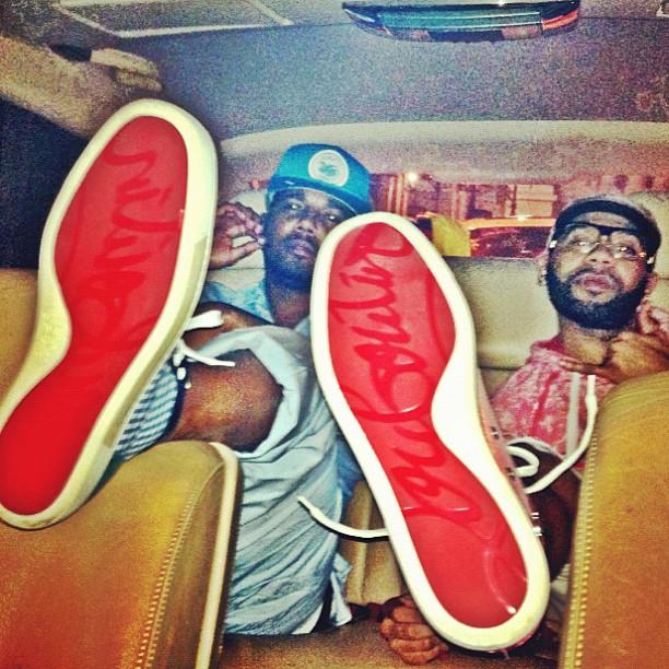 louboutin sneakers juelz santana