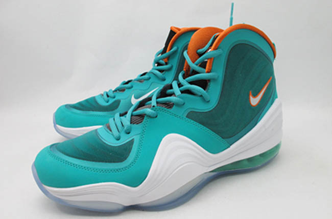 """97a5f4389576 Sneaker Me Dope  Wale Rocking Nike Air Penny V """"Dolphins""""   Wearing ..."""