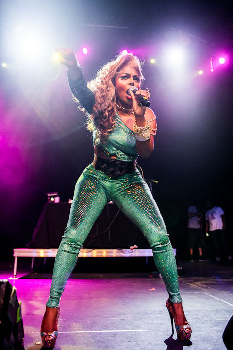 Looking Good While Touring In Texas: Lil Kim & Her Cameltoe Take ...