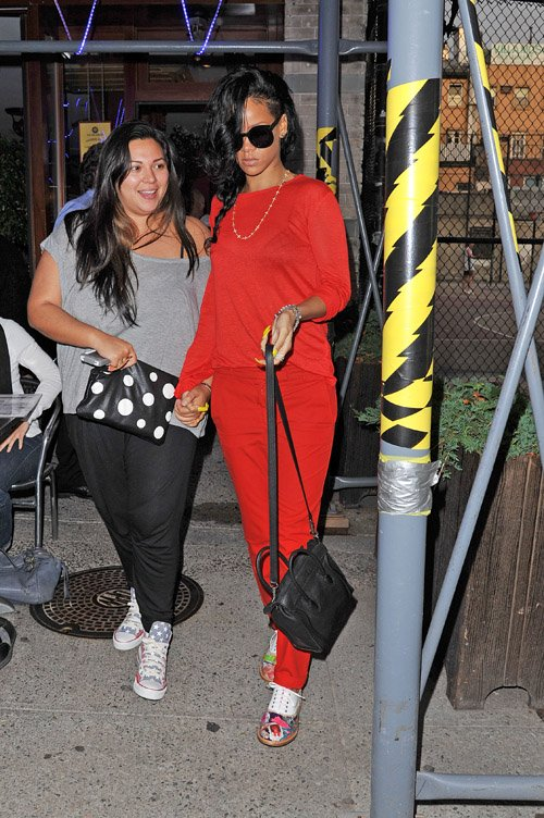 921c6cfb93a0 Styling On Them Hoes  Rihanna Wearing  895 Christian Louboutin ...