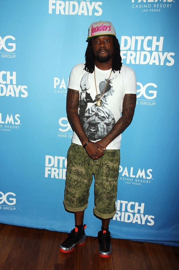 Wale-Leaders-Hat-PRPS-Floral-Camo-Cargo-Shorts-Nike-Air-Foamposite-Sneakers-1