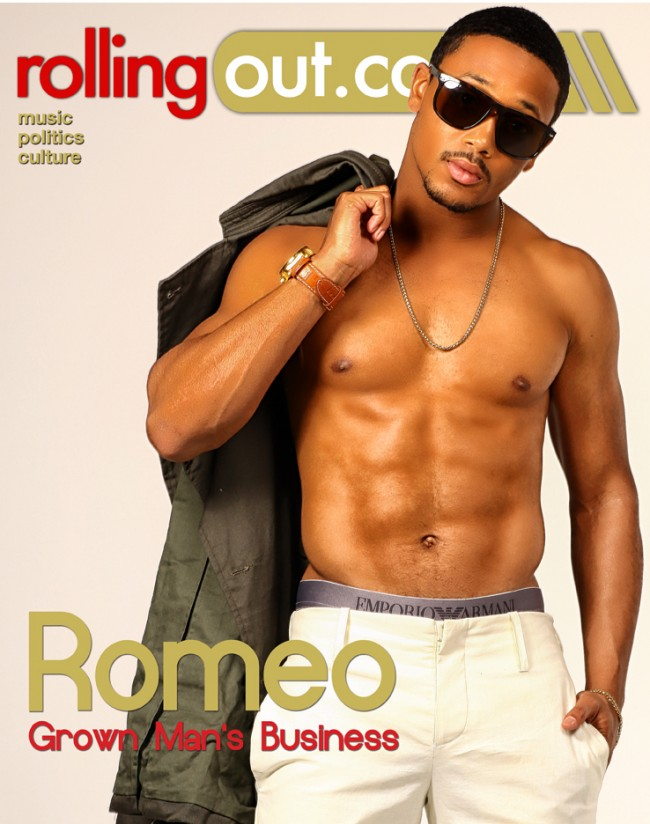 He Is Showing His Chest, Six-Pack & Abs For The Ladies: Romeo's ...