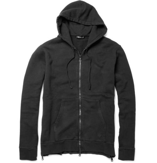 balmain-side-zip-hoodie