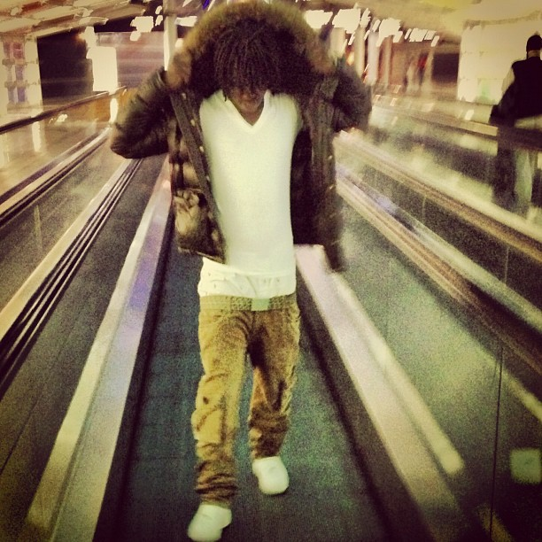 0ce49d76e Chief Keef Wearing A $1,625 Moncler Hubert Jacket, Robin's Jeans ...