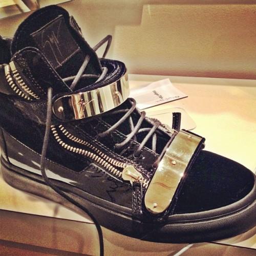 Giuseppezanottihommedoublegoldplatesneakers1