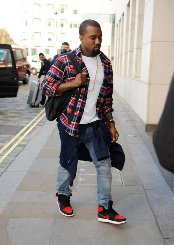 f6b891329a4 ... cheapest sneaker me dope kanye west wears air jordan 1 ko bred c66a4  efee2