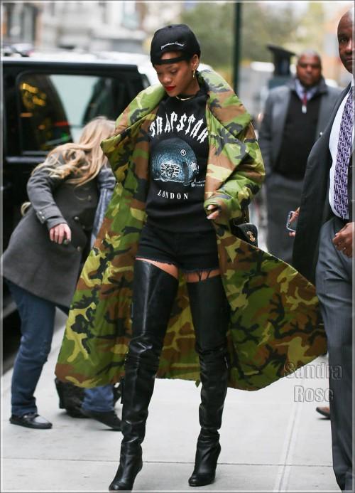 Rihanna in New York City