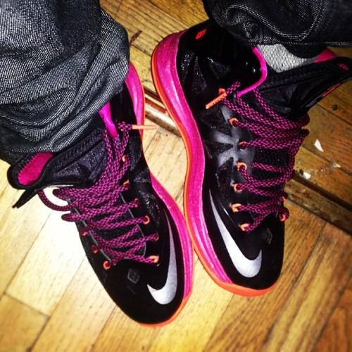 "Sneaker Me Dope  Rockie Fresh Wearing Nike LeBron X ""Floridians""  3040d4b24"