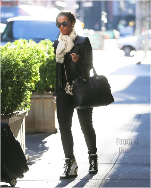 Alicia Keys is all smiles out and about in New York City