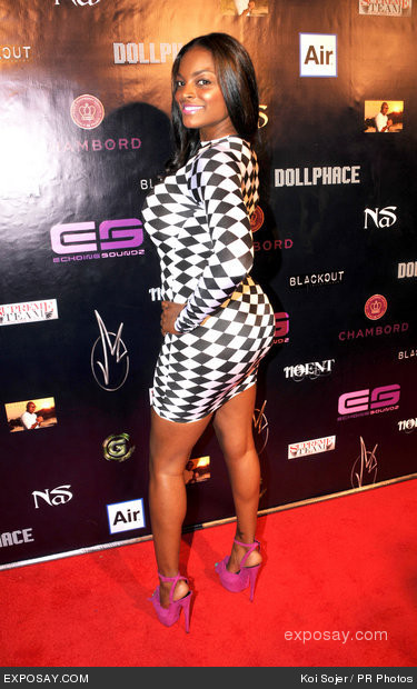 Nas Host Jimmie Maggett's Birthday Bash and #1 Celebration at the Roxbury Nightclub in Hollywood July 26, 2012