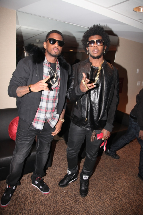 Fabolous, Trinidad James at the GREY GOOSE Cherry Noir Lounge, Chapter V, NYC