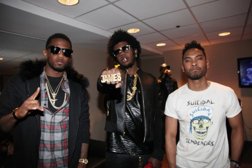 Fabolous, Trinidad James, Miguel at the GREY GOOSE Cherry Noir Lounge, Chapter V, NYC