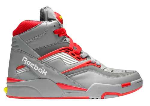 Pump Twilight Zone - v45066 - flat grey-Reebok red-rivet grey-pure silver