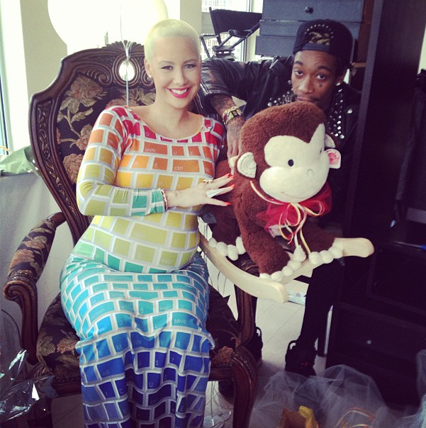 Inside Amber Rose Wiz Khalifas Baby Shower With Special Guests