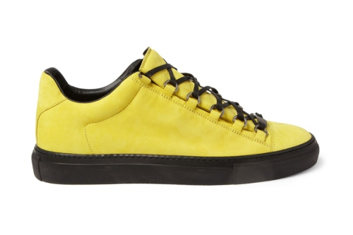 balenciaga-2013-spring-arena-creased-yellow-leather-sneakers-1