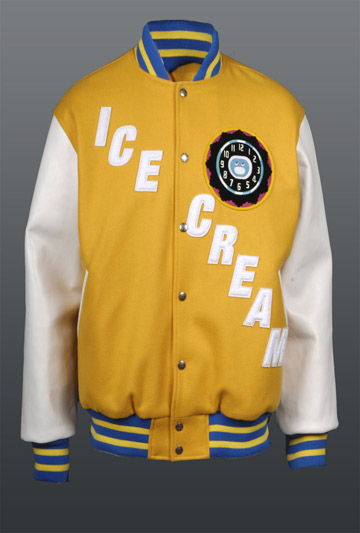 BBC-Ice-Cream-Glow-Clock-Satin-Varsity-Jacket