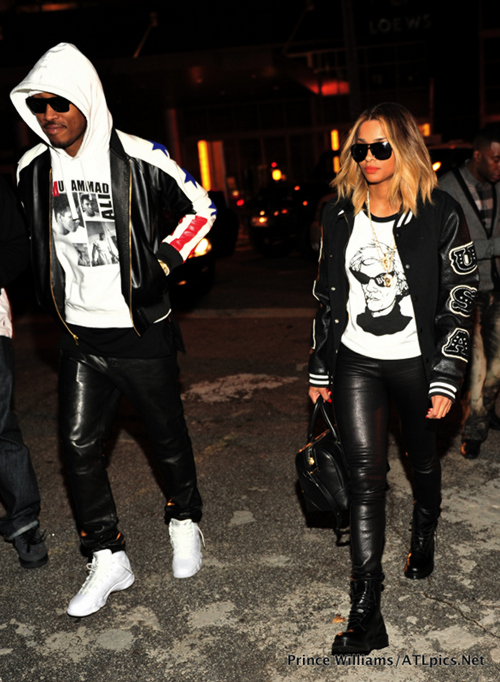 Ciara and Future Baby Mama