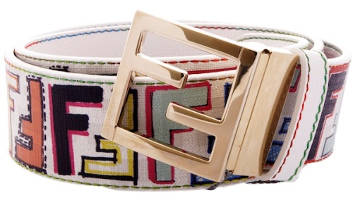 Fendi-multi-color-logo-belt-2