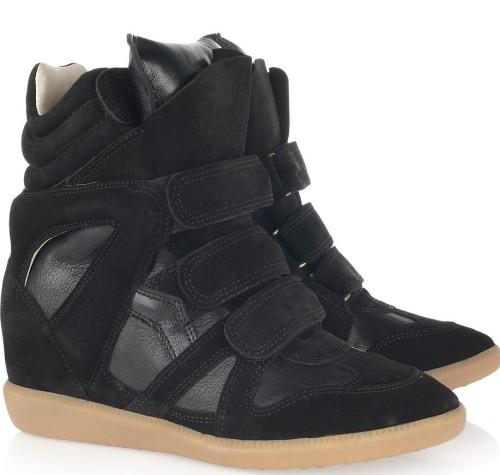 isabel-marant-bekket-high-top-suede-sneakers-black