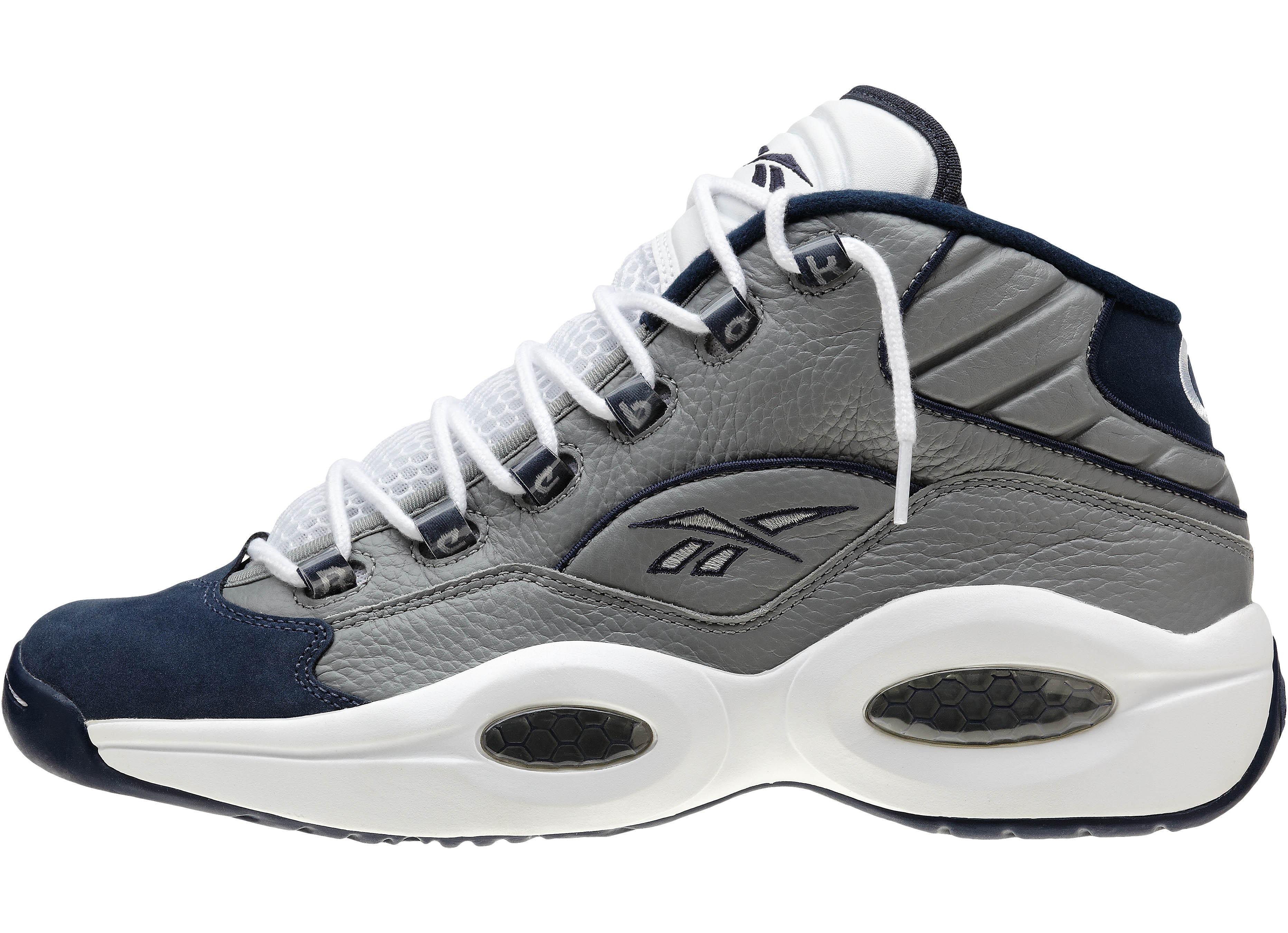 6acbfbf6374f02 The flat grey athletic navy white Question Mid and the white navy Answer IV  will drop at Foot Locker