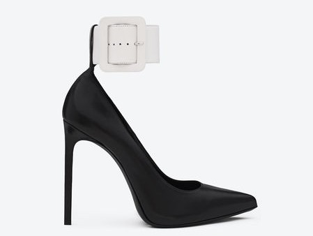 315540_CYU10_1090_A-ysl-saint-laurent-paris-women-paris-ankle-strap-escarpin-pointy-toe-shoe-in-black-and-white-leather-450x564