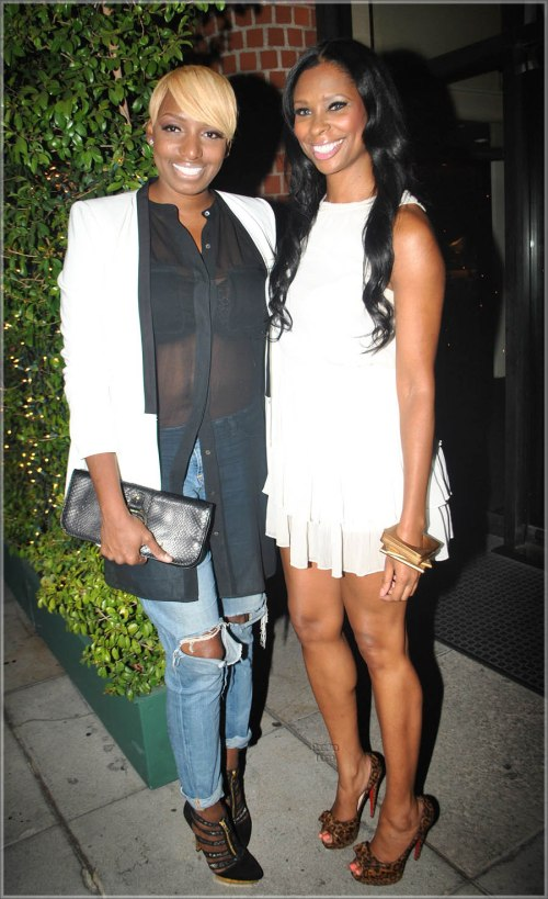 NeNe leaks & Jennifer Williams in Beverly Hills