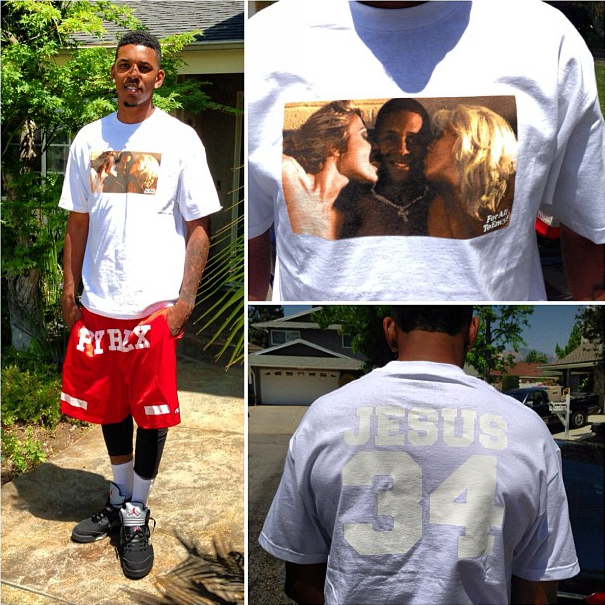 celebs style nick young amp chris brown wearing pyrex