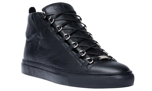 Plane In $545 Balenciaga Arena Sneakers