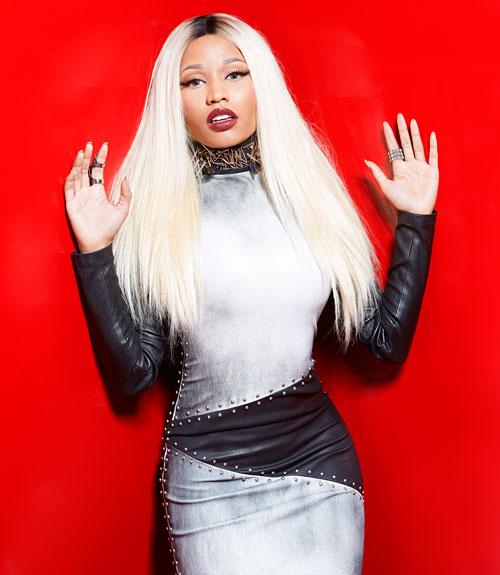 mcx-Nicki-Minaj-August-mag-gray-metallic-studded-dress-02-xln