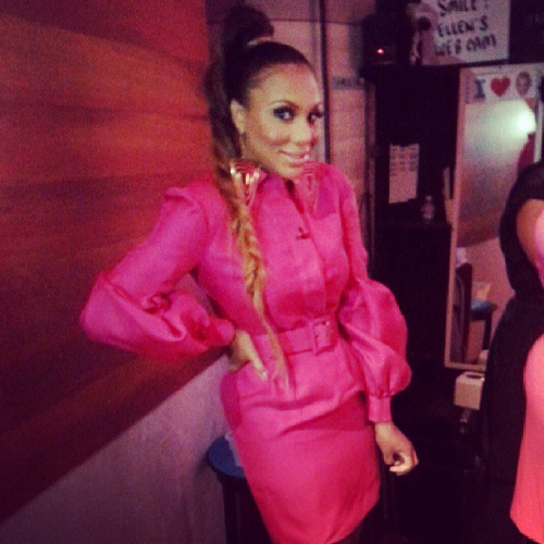 Tamar-Braxtons-The-Real-Gucci-Spring-2013-Pink-Dress - Copy