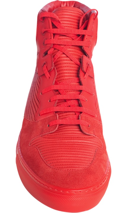balenciaga-Pleated-Red-Sneakers-2