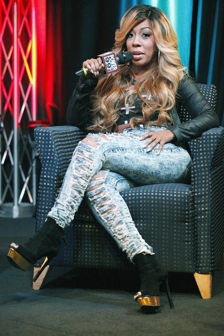 K. Michelle is a Rebellious Soul at Power 99