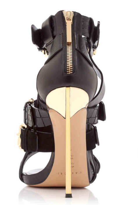 Prabal-Gurung-Black-Open-Toe-Bootie-Fall-2013-2