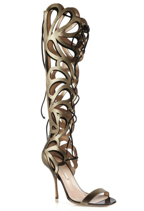 nicholas-kirkwood-spring-2013-printed-calf-and-suede-cutout-knee-high-sandals